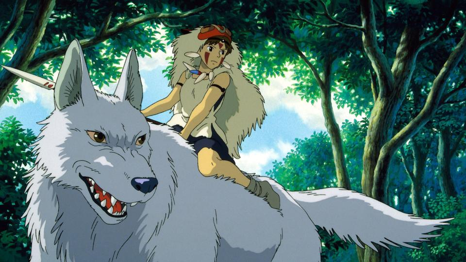 A scene from the animated film Princess Mononoke (Credit: Alamy)